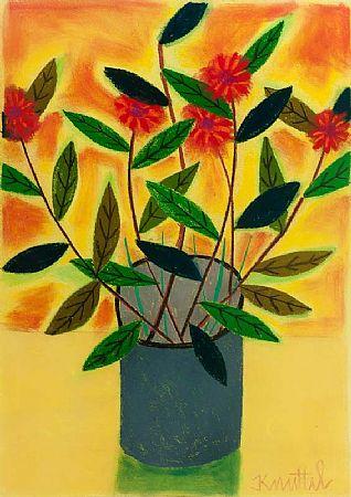 Graham Knuttel (b.1954), Still Life - Flowers in a Vase at Morgan O'Driscoll Art Auctions