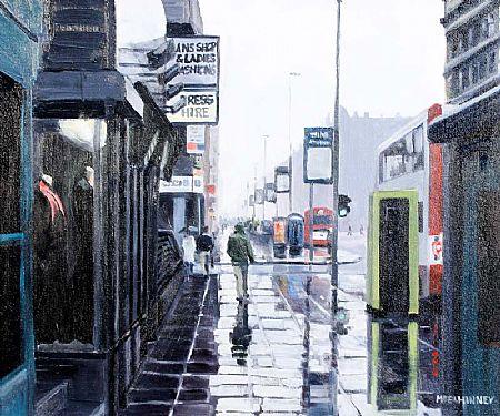 David McElhinney (b.1972), Wellington Place, Belfast at Morgan O'Driscoll Art Auctions