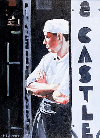 David McElhinney (b.1972), Chef at the Elephant and Castle at Morgan O'Driscoll Art Auctions