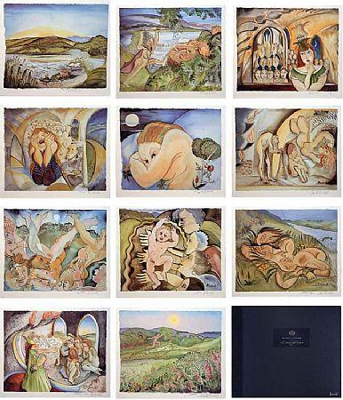 Pauline Bewick RHA (b.1935), The Midnight Court Series at Morgan O'Driscoll Art Auctions