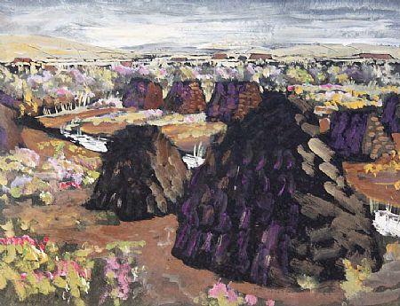 Patric Stevenson (1909-1983), Landscape at Morgan O'Driscoll Art Auctions