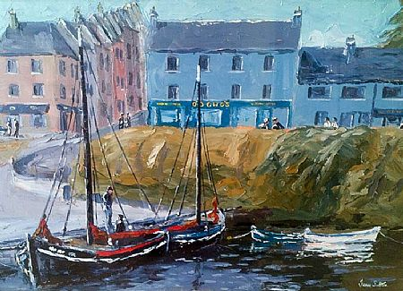 Ivan Sutton (b.1944), Roundstone Harbour at Morgan O'Driscoll Art Auctions