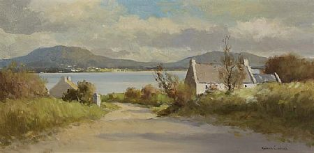 Maurice Canning Wilks ARHA RUA (1911-1984), Lough Road at Morgan O'Driscoll Art Auctions