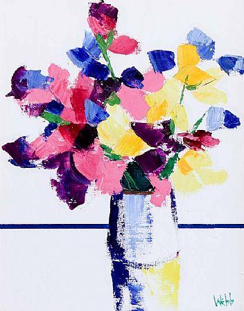 Kenneth Webb RWA FRSA RUA (b.1927), Sweet Pea at Morgan O'Driscoll Art Auctions