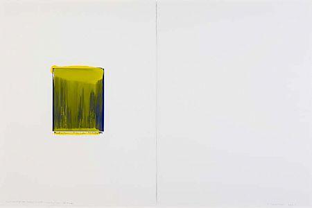 Ciaran Lennon (b.1947), Yellow on Blue at Morgan O'Driscoll Art Auctions