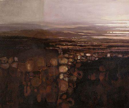 Arthur Armstrong RHA (1924-1996), Evening Landscape at Morgan O'Driscoll Art Auctions
