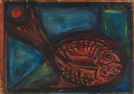 Anne Yeats (1919-2001), Flat Fish at Morgan O'Driscoll Art Auctions