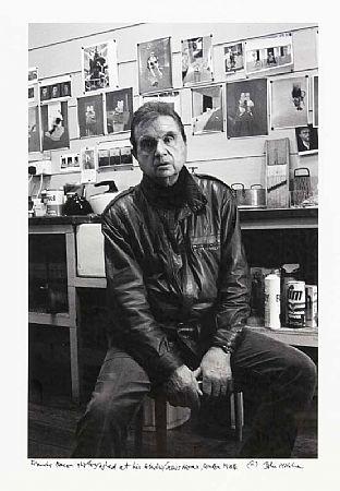 John Minihan (b.1946), Francis Bacon in his Studio 1984 at Morgan O'Driscoll Art Auctions