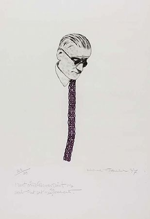 Michael Farrell (1940-2000), James Joyce at Morgan O'Driscoll Art Auctions