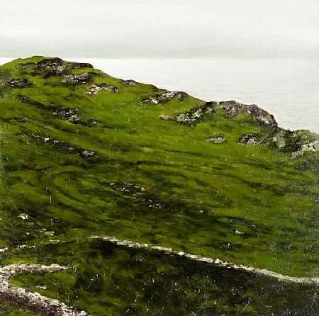 Niall Wright (20th/21st Century), Coastline II, Ballinaskelligs Bay at Morgan O'Driscoll Art Auctions