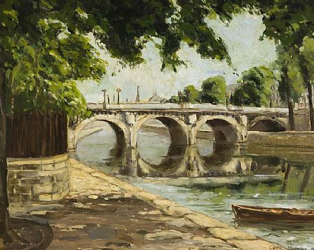 Cecil Maguire RHA RUA (1930-2020), Canal Bridge at Morgan O'Driscoll Art Auctions