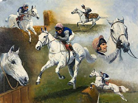 Malcolm Coward (20th/21st Century) English, Race Horse Studies at Morgan O'Driscoll Art Auctions