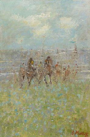Des Murie (20th/21st Century), Final Furlong at Morgan O'Driscoll Art Auctions
