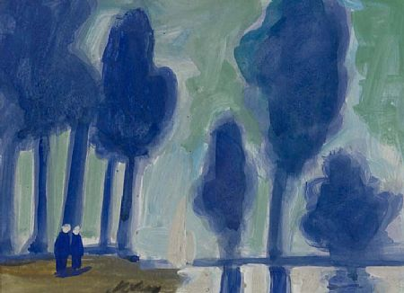 Markey Robinson (1918-1999), Figures and Trees at Morgan O'Driscoll Art Auctions