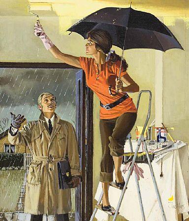 Jac Mars (1919-1992) British, Tom Walls at Morgan O'Driscoll Art Auctions