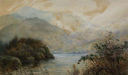 Alexander Williams RHA (1846-1930), A Corner, Middle Lake, Killarney at Morgan O'Driscoll Art Auctions