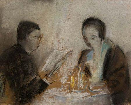 May Guiness (1836-1955), At Table at Morgan O'Driscoll Art Auctions