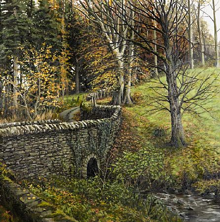 Eugene Conway (20th/21st Century), Bridge Over the Stream at Morgan O'Driscoll Art Auctions