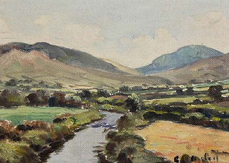 Charles J. McAuley RUA ARSA (1900-1999), View of the Mournes from Above Hilltown at Morgan O'Driscoll Art Auctions