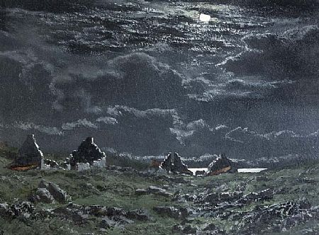 Ciaran Clear (20th/21st Century), After the Famine, Co. Mayo at Morgan O'Driscoll Art Auctions