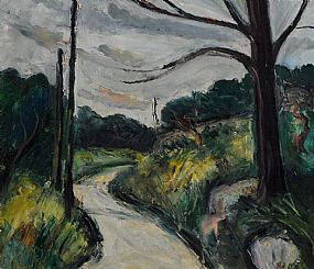 Peter Collis RHA (1929-2012), Wicklow Mountains Road at Morgan O'Driscoll Art Auctions