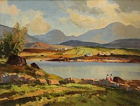 Maurice Canning Wilks ARHA RUA (1911-1984), Morning Light, Roundstone, Co.Galway at Morgan O'Driscoll Art Auctions