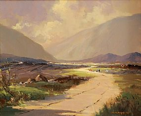 George Gillespie RUA (1924-1996), Barnsmore Gap. Co. Donegal at Morgan O'Driscoll Art Auctions