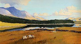 Cecil Maguire RHA RUA (b.1930), Spring Morning, Inagh Valley Connemara at Morgan O'Driscoll Art Auctions