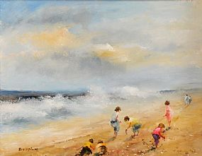 Elizabeth Brophy (20th/21st Century), The Wind Surf at Morgan O'Driscoll Art Auctions