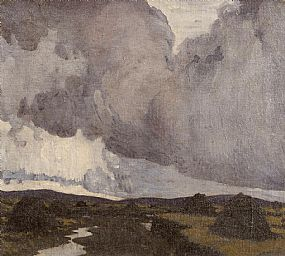 Paul Henry RHA (1876-1958), A Western Landscape 1919 at Morgan O'Driscoll Art Auctions