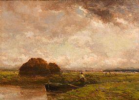 Claude Hayes, Near Dordrecht at Morgan O'Driscoll Art Auctions