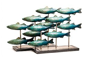 Andy McCarthy, Shoal of Fish at Morgan O'Driscoll Art Auctions