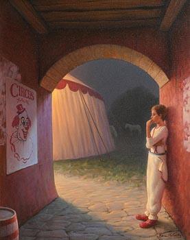 Brian McCarthy, The Young Clown (2006) at Morgan O'Driscoll Art Auctions