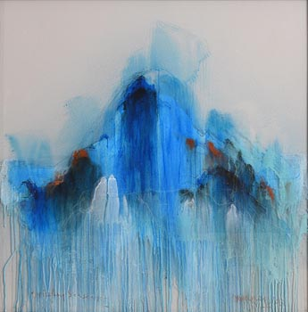 Gert van Maanen, Drizzling Seascape (2003) at Morgan O'Driscoll Art Auctions
