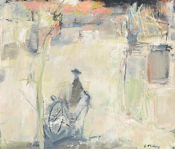 Gerard McGourty, Near the Town at Morgan O'Driscoll Art Auctions