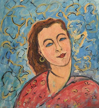 Lady Beatrice Glenavy, Homage to Matisse at Morgan O'Driscoll Art Auctions