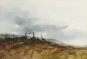Phyllis del Vechio (20th/21st Century), Crow's Council at Morgan O'Driscoll Art Auctions