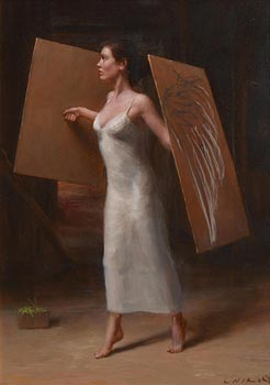 Harry Holland, Angel at Morgan O'Driscoll Art Auctions