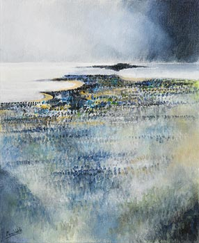 Manus Walsh, Black Island, Black Cloud at Morgan O'Driscoll Art Auctions