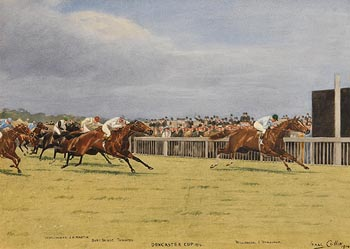 Isaac Cullin, Doncaster Cup 1914 at Morgan O'Driscoll Art Auctions
