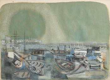 Anita Shelbourne, Bullagh Harbour, Dalkey at Morgan O'Driscoll Art Auctions