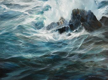 Carol Cronin, Seascape at Morgan O'Driscoll Art Auctions