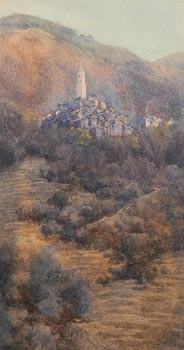 Mary Georgina Barton, Mountainous Village at Morgan O'Driscoll Art Auctions
