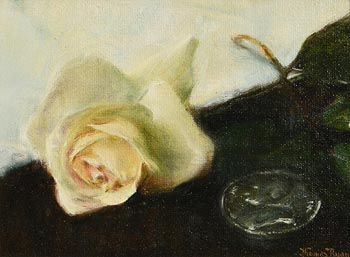 Thomas Ryan, White Rose at Morgan O'Driscoll Art Auctions