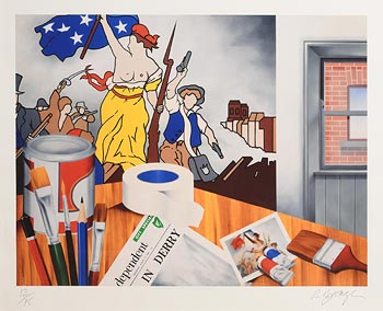Robert Ballagh, My Studio at Morgan O'Driscoll Art Auctions