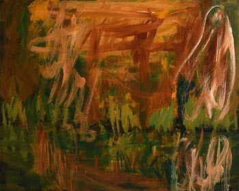 Nancy Wynne-Jones, Pond in October (1990) at Morgan O'Driscoll Art Auctions