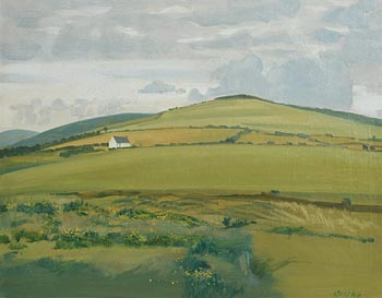 Carey Clarke, Rural Landscape at Morgan O'Driscoll Art Auctions