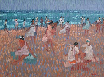 Desmond Carrick, July, Nerja at Morgan O'Driscoll Art Auctions