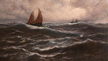 Thomas Rose Miles, Heralds of the Coming Storm at Morgan O'Driscoll Art Auctions