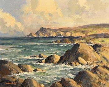 George Gillespie, Sybil Head, near Mount Brandon, beyond Ballyferriter, Co.Kerry at Morgan O'Driscoll Art Auctions
